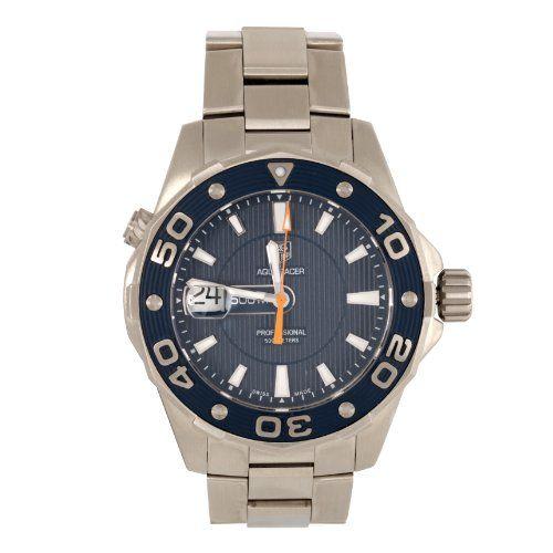 Tag Heuer Herren-Armbanduhr XL Aquaracer Analog Quarz Ede...