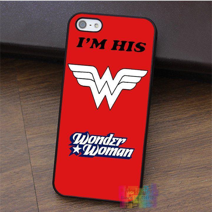 Wonderwoman & Superman Couple fashion cell phone case for iPhone 4 4s – Superhero Universe