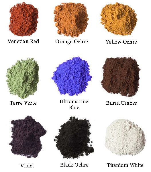 Natural Earth Pigments : Individual 3 oz. by NaturalEarthPaint