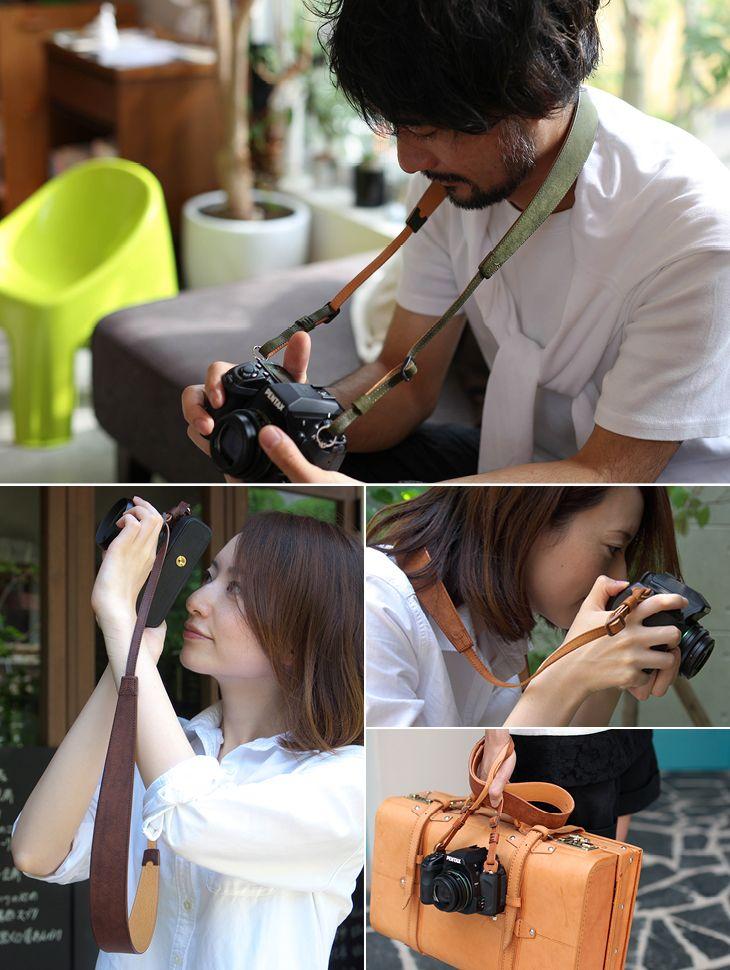 一眼レフにおすすめの本革カメラストラップ クラシコグランデ | ULYSSES
