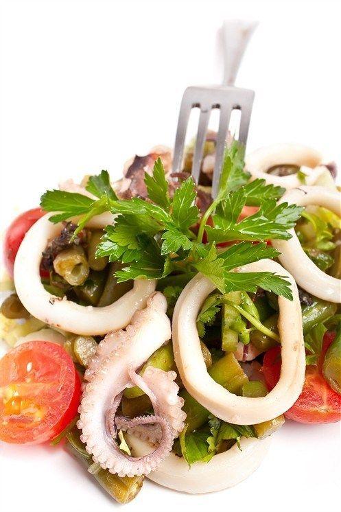 Осьминоги и кальмары с сельдереем | Рецепт | Идеи для блюд ...