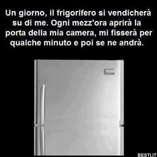 Un giorno il frigorifero
