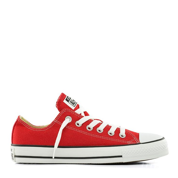 Rode Lage Converse All Star Canvas online kopen | yourStore24