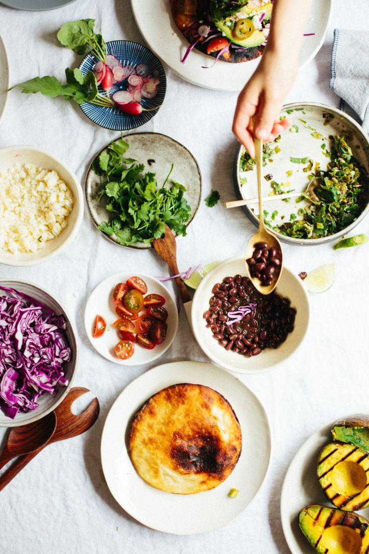 Guacamole With Charred Corn, Black Beans, And Scallions Recipe ...
