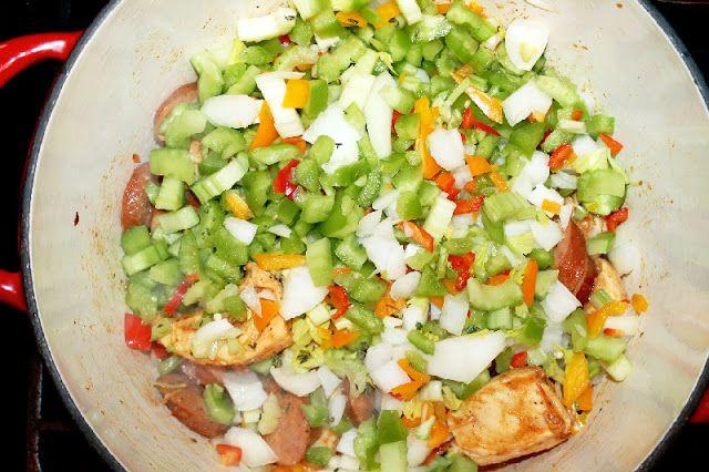 Creole Chicken and Sausage Jambalaya | The Big Easy Cajun Creole! | P ...