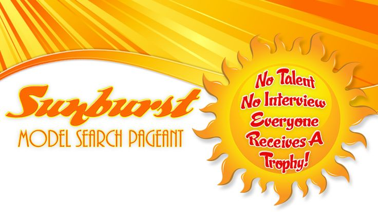 SUNBURST BEAUTY PAGEANT childrens beauty contest child pageants