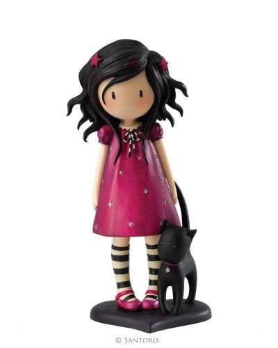 "Twinkle, Gorjuss 6"" Figurine from Santoro"