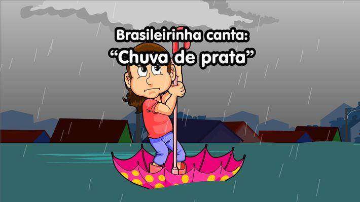 Brasileirinha faz desabafo sobre a chuva!
