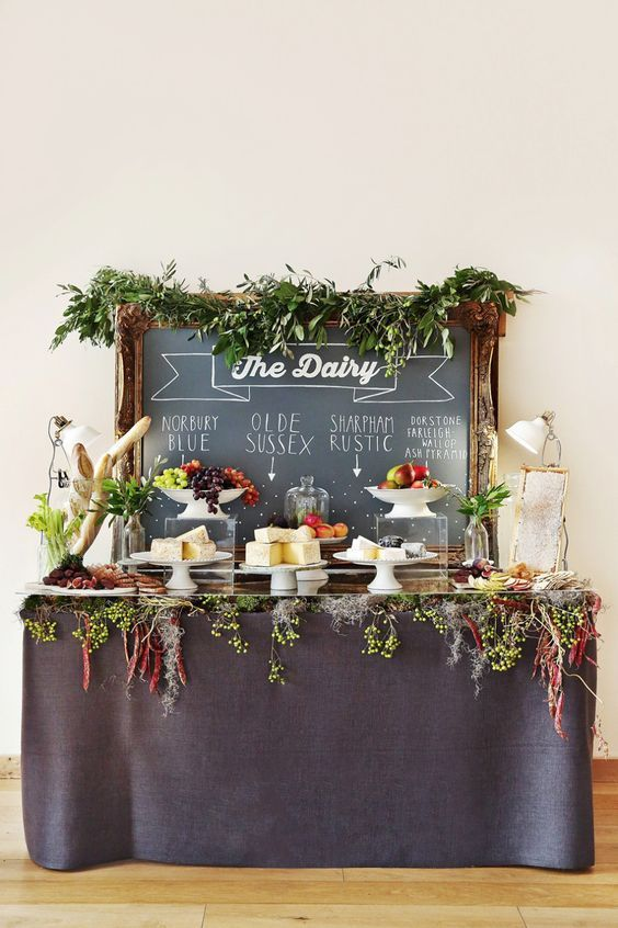 DIY Cheese Grazing Table – Edible Crafts Grazing table ideas