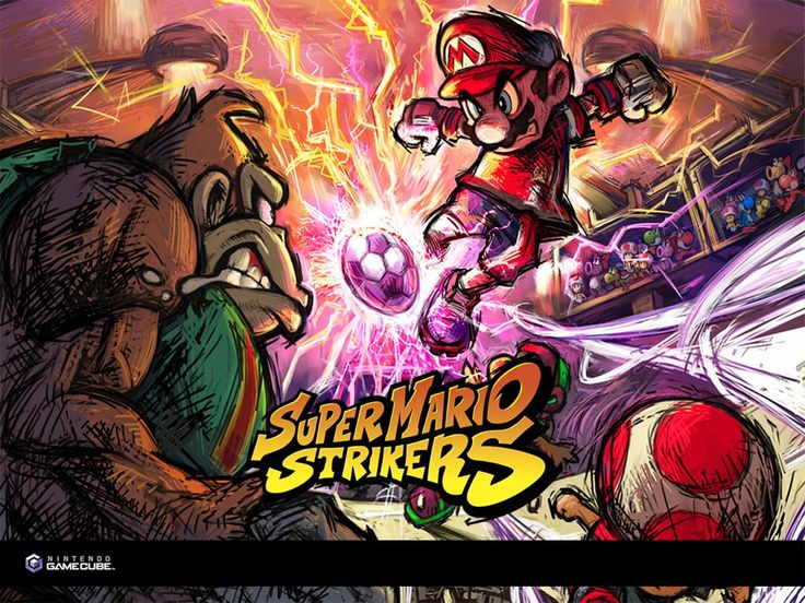 Games Wallpaper: Super Mario Strikers