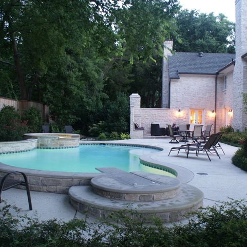 pools with diving boards home design ideas pictures remodel and decor - Pool Design Ideas