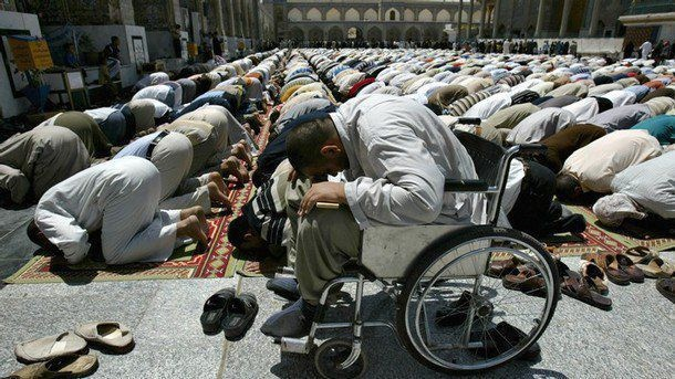 """""""Successful indeed are the believers. Those who offer their Salah (prayers) with all solemnity and full submissiveness."""" (Surat Al-Mu'minun 23:1-2, سورة المؤمنون)"""