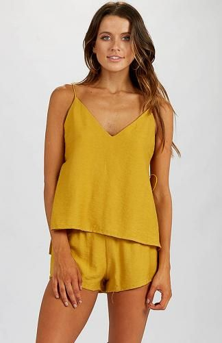 Casie Top - Mustard