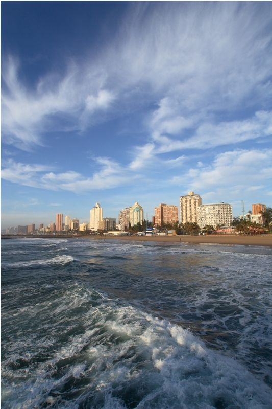 Situated on Durban's Golden Mile, just 35km from King Shaka International Airport, the Palace Resort and Spa comprises 76 high-rise luxury apartments, all with magnificent sea views. The onsite restaurants offer light meals, Mediterranean cuisine and room service, while a swimming pool and world-class Wellness Centre, Jacuzzi and steam room complete your luxury holiday.