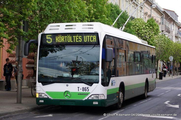 T-865 Szeged Mars tér 20.04.2012 - Mercedes O530 Tr12 / TV.EU, Mercedes-Benz O530 Citaro - Herkunft unbekannt