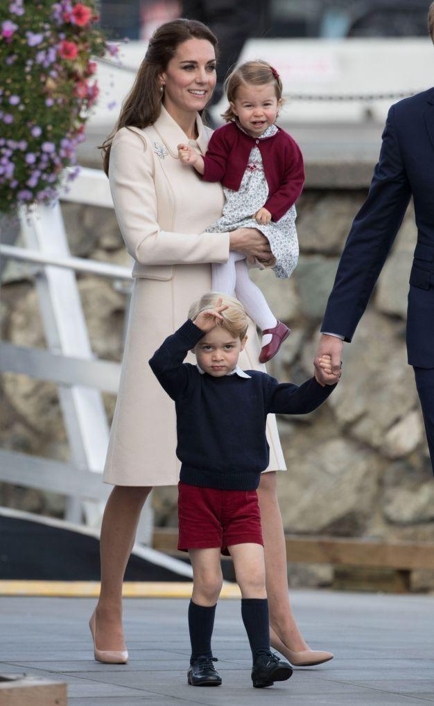 Despedida da Família Real do Canadá