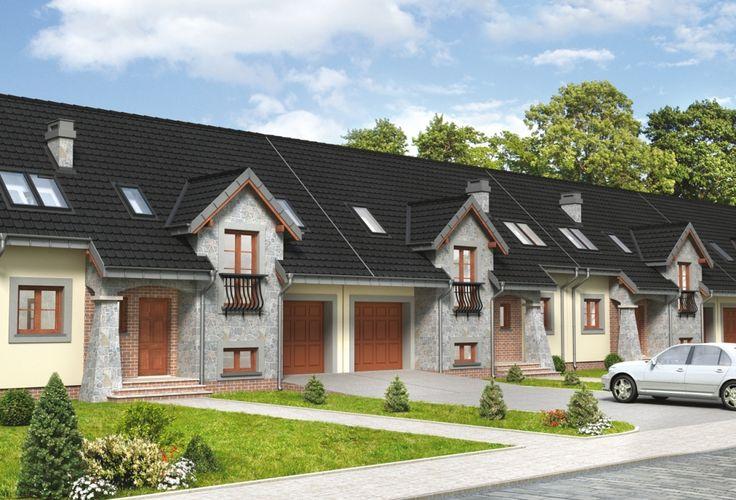 DOM.PL™ - Projekt domu AN FERMATA CE - DOM AO3-95 - gotowy projekt domu