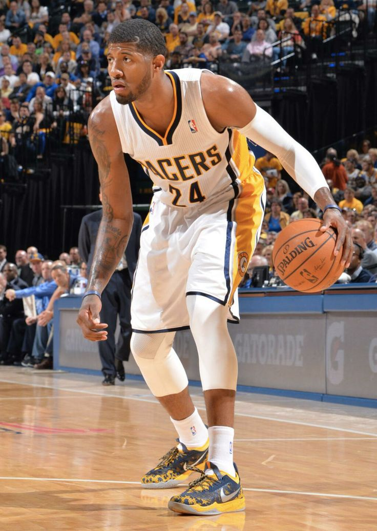 solewatch paul george in a nike zoom crusader pe nike