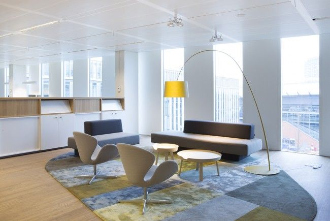 Heyligers d+p completed the interior design for the whole 27.000m2 head office for NUON (power company) in Amsterdam, The Netherlands. www.h-dp.nl