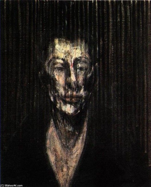 sketch for a portrait of lisa by Francis Bacon