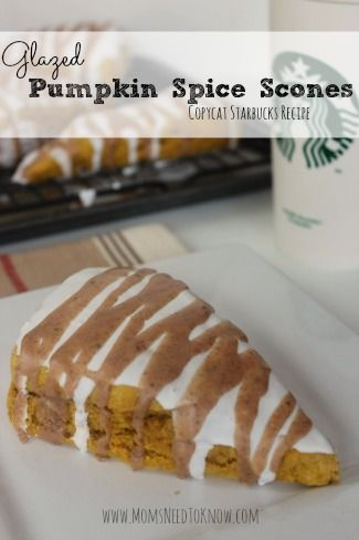 I don't make these pumpkin spice scones that often….usually for holidays or a special Sunday breakfast. The reason I don't make them more often? Because I would be too tempted to eat the entire batch myself and that doesn't bode well for my diet!