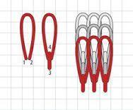 easiest way to do needlepoint turkey work stitch - Google Search