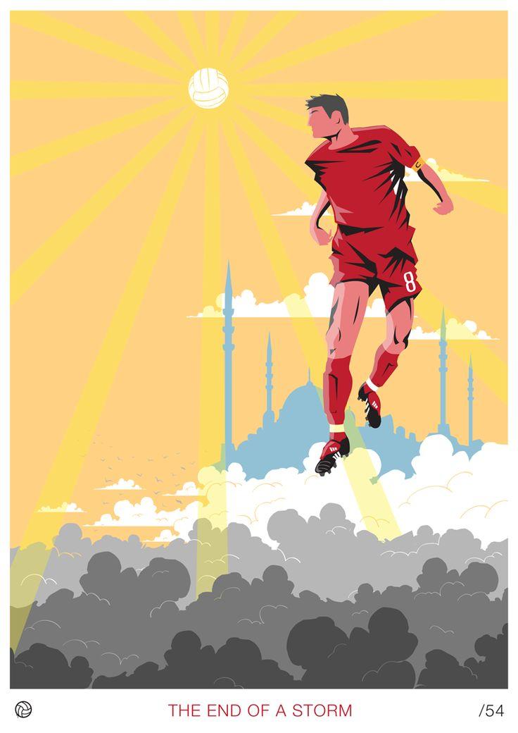 #Futbol #Gerrard The Hearth of Liverpool