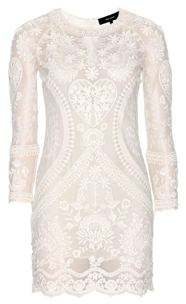 ISABEL MARANT  Devi Embroidered Dress