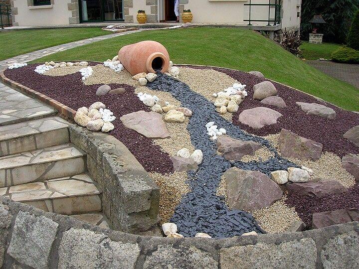 Jardin min ral jardinage pinterest for Jardin mineral