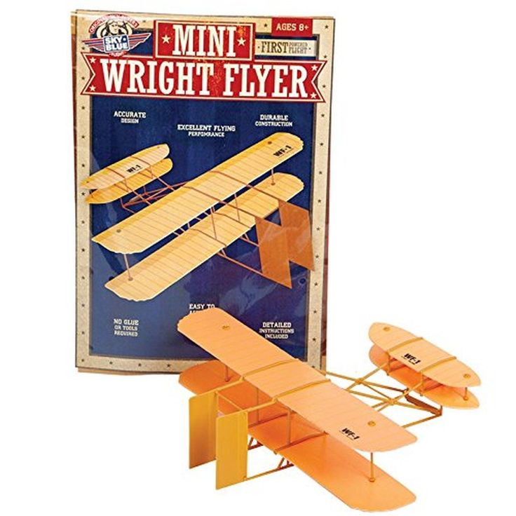 Sky Blue Flight Mini Wright Flyer Model Kit