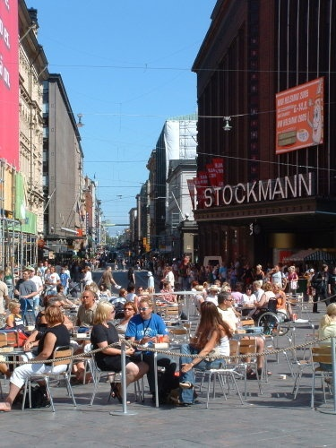 Helsinki, Finland. Went there on a cruise & wish I could've stayed longer to enjoy the localisms.