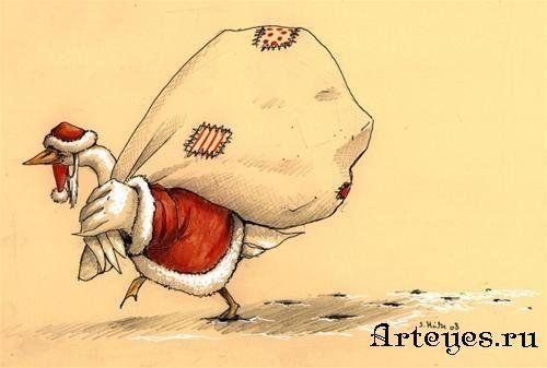 Рождественские и не только картинки от Luisa Kelle