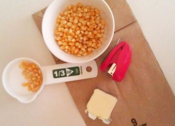 Homemade microwave popcorn, Microwave popcorn and Popcorn on Pinterest