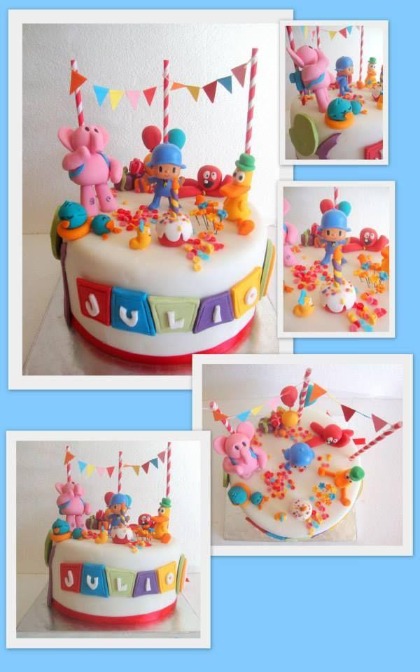 Pocoyo Cake Fondant