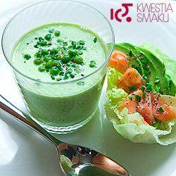 Zupa z zielonego groszku | Kwestia Smaku