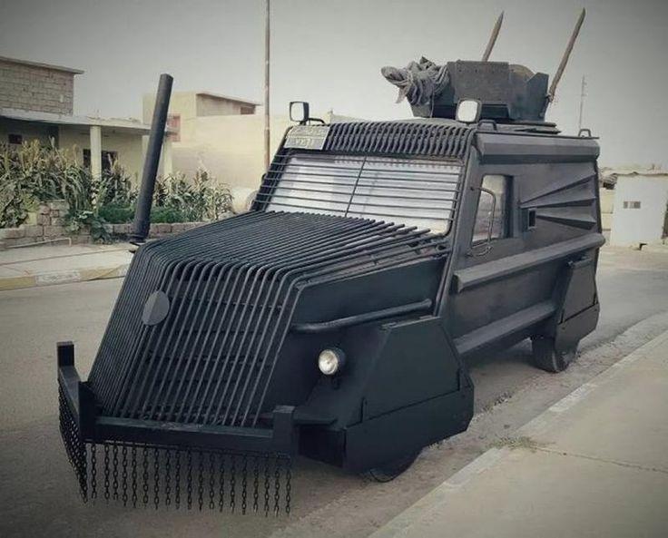 "semperfido-or-die: "" medic981: "" grumpyvikingdidnothingwrong: "" bmashina: "" The armored vehicle of the Kurdish Peshmerga involved in the fighting near Mosul. October 2016-year. "" @lupus–deorum "" """
