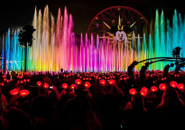 World of Color Viewing Spots & Photography Tips #Disneyland