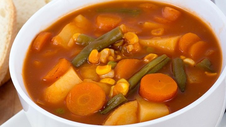 Hungry Girl's Day-Off Diet Souper-Sized Soup | The Dr. Oz Show [the picture doesn't match the recipe lol]