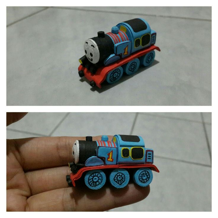 Thomas the train quilling art