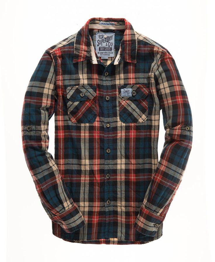 Superdry Lumberjack Twill Shirt - Men's Shirts