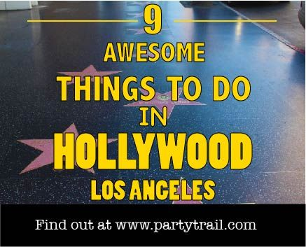 #Travel-tips about 9 awesome things to do if you ever travel to #LosAngeles California.  Our travel tips give you an insider look at the best things to do and see in #Hollywood Los Angeles. Courtesy: http://partytrail.com/hollywood-los-angeles/