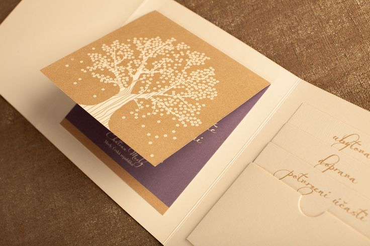 Svatební oznámení rozkládací s doplňkovými informacemi ke svatbě - doprava, ubytování, RSVP