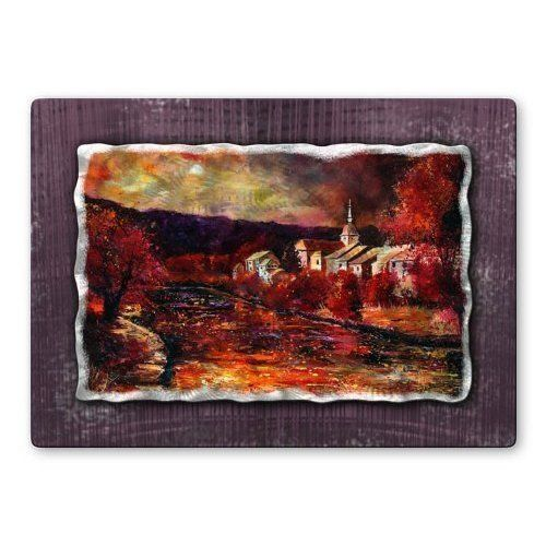 Vibrant Red Afternoon Metal Wall Art Hanging Add A Touch Of Class To Your Home Decor With Our Extensive Line Of Metal Wall Art Pieces Featuring Belgium