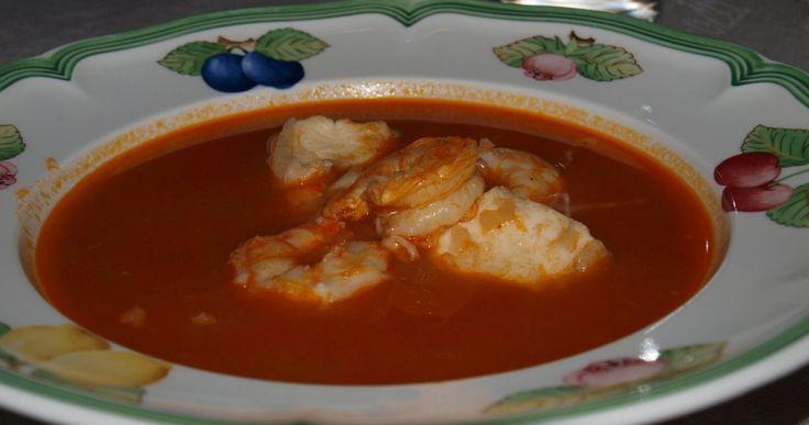 Zuppa di pesce - fiskesuppe fra Sør-Italia