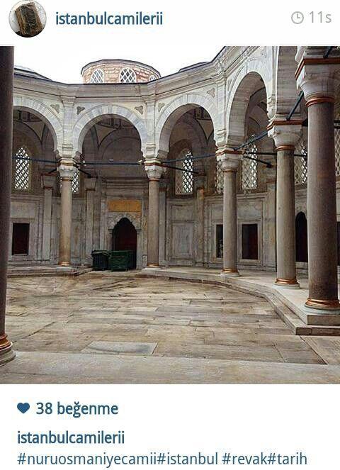 Νuruosmaniye camii revakları, Istanbul