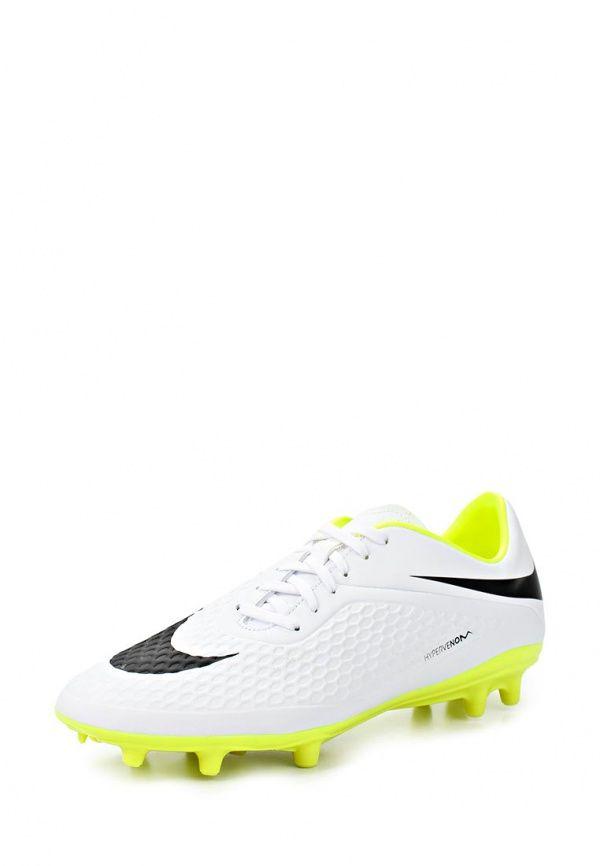 Бутсы Nike / Найк Цвет: белый. Материал: искусственная кожа. Сезон: Весна-лето 2014. С бесплатной доставкой и примеркой на Lamoda. http://j.mp/1AjKAZs