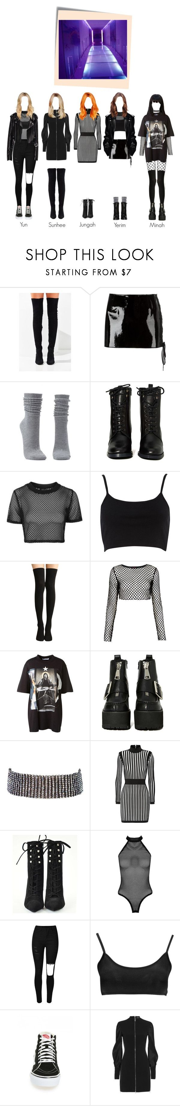 """""""SOLAR ( COMEBACK ) - I WANT YOU """" MV """""""" by solarofficial ❤ liked on Polyvore featuring Jeffrey Campbell, Anthony Vaccarello, Charlotte Russe, Report, Topshop, River Island, Motel, Givenchy, Amrita Singh and Balmain"""