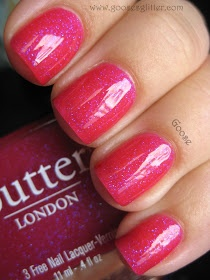 Goose's Glitter: butter LONDON - Disco Biscuit: Swatch and Review