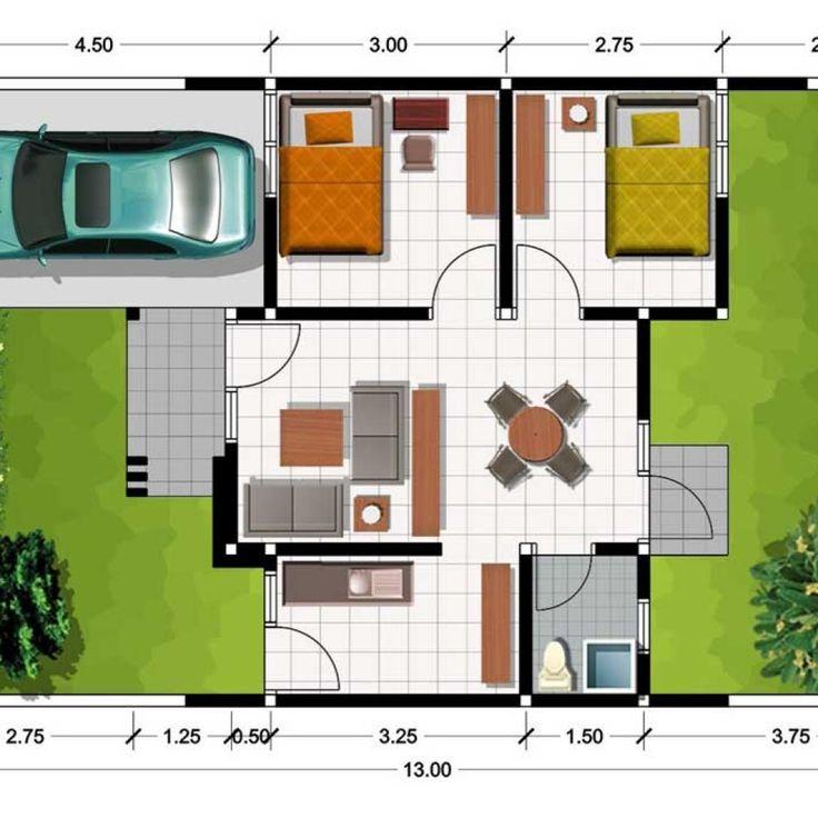 Konsep Denah Rumah Minimalis Tipe 36 Terbaik