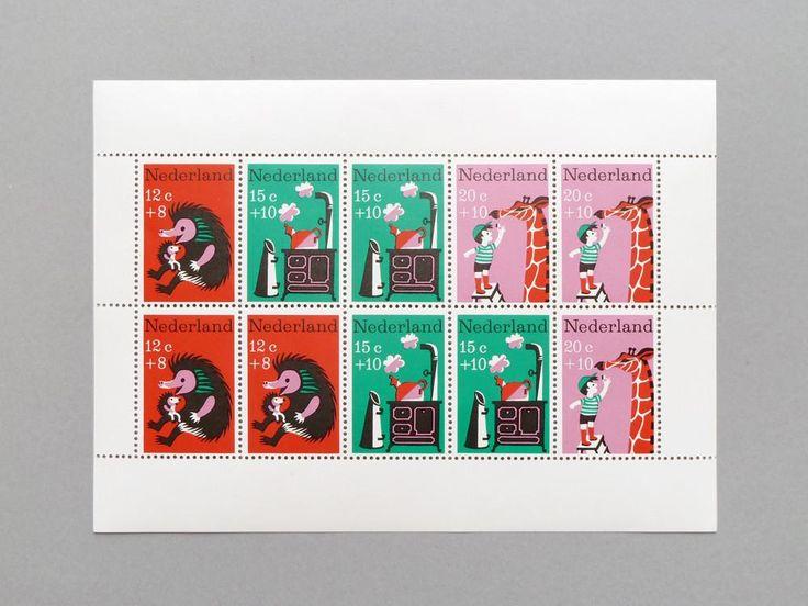 Animal Stamp Block. 1967